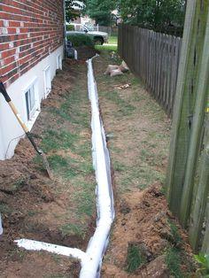 7 best french drain ideas images drainage ideas drainage rh pinterest com au