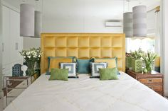 Интерьер с обложки: свежий и яркий дизайн маленькой спальни | Свежие идеи дизайна интерьеров, декора, архитектуры на InMyRoom.ru