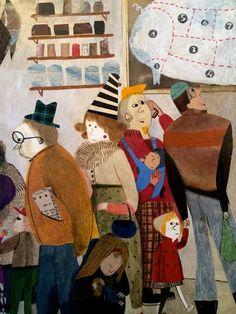 Beatrice Alemagna illustration
