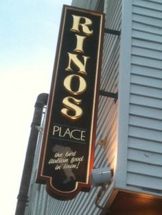 Was watching Diners, Drive-ins, and Dives last night and this place looked awesome! Rinos Place, East Boston, Mass.