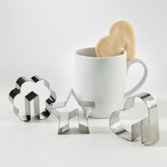 Star Side-of-the-Cup Cookie Cutter @Pascale Lemay Lemay De Groof
