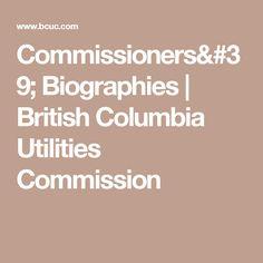 Ktunaxa history link http://www.bcuc.com/Documents/Proceedings/2010/DOC_25494_C7-4_KNC_Written-Evidence.pdf Commissioners' Biographies   British Columbia Utilities Commission