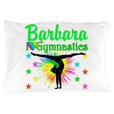 GORGEOUS GYMNAST Pillow Case on CafePress.com