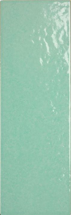 Obklad Soleil verde vichy 10x30 cm, lesk