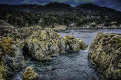 Arch Near Bird island Pt. Lobos on Highway One #highwayone