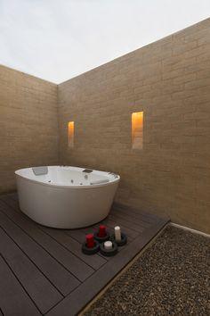 Galería de Casa H / David Macias David, House Plans, Bathtub, Houses, Interiors, Blueprints For Homes, Standing Bath, Bath Tub, Home Plans