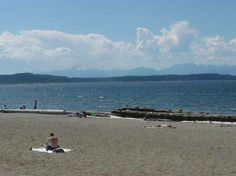 Alki Beach, West Seattle, Washington