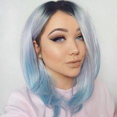 41 Beautiful Blue Hair Designs at CherryCherryBeauty.com