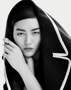 runwayandbeauty: Liu Wen - Femina China September 2014 Fashion...