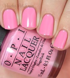OPI Flamingo Tini Pink | Peachy Polish