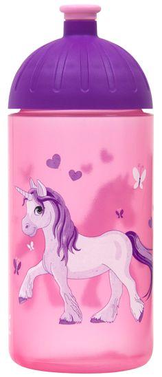 ISYbe Trinkflasche 0,7L Tiere cool  Wasserflasche Kinder Sport BPA-frei