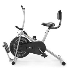 Brand: Klikfit Maximum height: 46 inches; Maximum Weight: 100 kg Resistance Mechanism: Resistance Knob; Drive System: Belt Driven Assembly Instructions: Assembled; Warranty Description: 1-year warranty Item Weight: 20.15 kg Features: Heavy-duty frame construction, easy interface performance monitor, 6 levels adjustable ergonomic seating, made for a full-body workout Best Cardio Workout, Cycling Workout, Workout Gear, Gym Workouts, At Home Workouts, Home Gym Equipment, No Equipment Workout, Cardio At Home, Workout Machines