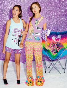 Dancing Kitten 3 Piece Pajama Set | Girls Sets Pajamas & Robes | Shop Justice