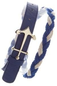 "Attention Nautical Lovers!  This one is for you!  Royal blue & white braided rope belt with gold anchor.  Classic!  Shop: https://www.shoppinwithsailin.com/collections/belts/products/timeless-royal-blue-white-braided-belt-with-anchor-buckle?utm_content=buffer33d88&utm_medium=social&utm_source=pinterest.com&utm_campaign=buffer  Approximately 3/4""-1"" wide and 38""-39"" long FREE SHIPPING!!!"