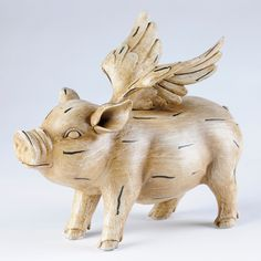 Flying Pig Statue | Kirklands
