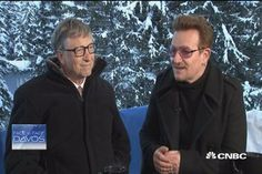 Gates & Bono: Philanthropy's dynamic duo - CNBC's Becky Quick talks to billionaire Bill Gates and rock star Bono about the ways they are looking to change the world.