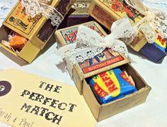 Perfect Match Vintage Wedding Favour Ideas From Www Somethingoldsomethingnew Org Uk