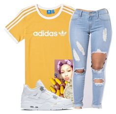 """""""."""" by fashionofficial01 ❤ liked on Polyvore featuring adidas, Michael Kors and NIKE"""