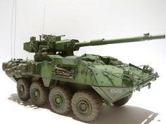M1128 Stryker MGS (1:35 AFV Club)