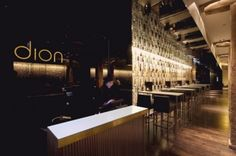 Bar Design: Dion Canary Wharf Bar by SHH