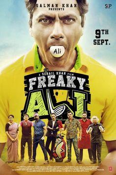 Freaky Ali | [09-Sep-2016] | Language: Hindi | Genres: #Comedy #Romance | Lead Actors: Nawazuddin Siddiqui, Arbaaz Khan, Amy Jackson | Director(s): Sohail Khan | Producer(s): Sohail Khan | Music: Sajid–Wajid | Cinematography: Mahesh Limaye | #cinerelease #cineresearch #cineoceans #2016cinema #FreakyAli