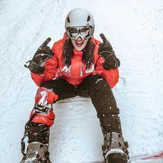 Snowboarding in Austria, Austrian Alps in Wolfsberg (Koralpe)