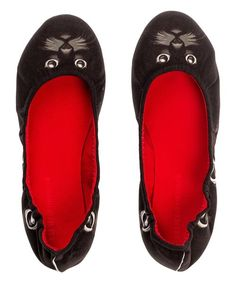 Look at this Silence of The Bees Black Cat Ballet Flat on #zulily today!