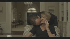 Claire Underwood and Frank Underwood in House Of Cards