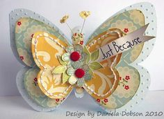 Butterfly  Daniela Dobson  http://thecuttingcafe.typepad.com/the_cutting_cafe/2010/03/butterfly-shaped-cardtemplate-cutting-file.html