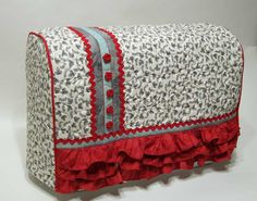 """GIFTS FROM THE HEART AND SEWING MACHINE"" cute sewing machine cover! - OR Toaster, OR Mixer, OR ... whatever COVER!"