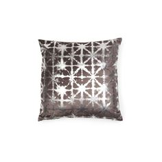 Velvet Metallic Printed Pillow ($40) ❤ liked on Polyvore featuring home, home decor, throw pillows, velvet accent pillows, metallic throw pillows, patterned throw pillows, velvet throw pillows and textured throw pillows