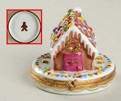 Another Limoges gingerbread trinket box