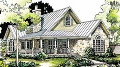 english cottage house plans | Look of Home