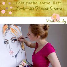 Viral Beauty: Ilustrações Shopie Lauren, poema positividade, ofe...