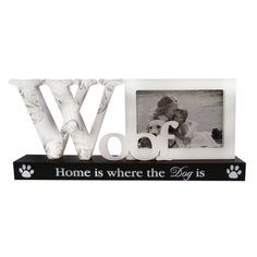 Display your love for canine comrades with this lovely picture frame, featuring charming typography and petite paw prints. Dog Room Decor, Home Decor, Dog Rooms, Joss And Main, New Pictures, Picture Frames, Typography, Dogs, Paw Prints