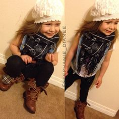 a little fashionista daughter --Kenzie Leigh