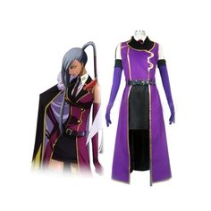 Anime Costumes Costumes & Accessories Code Geass R2 Schneizel El Britannia Party Anime Clothing Uniform Cosplay Costume Blue Full Set