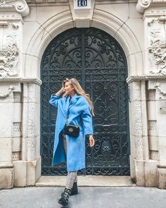 Fall winter 2019 outfit coat trends @cocorebelista