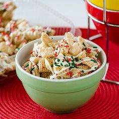 Sugar Cookie Chex Party Mix Recipe !