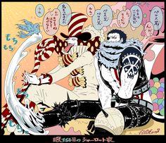 Big Mom Crew Charlotte Katakuri Perospero Sweet Commanders One Piece