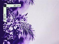 YJH-12-60 [Purple / Orchid & Leaves] - Hawaiian Fabrics - Hawaiian Fabrics | AlohaOutlet SelectShop