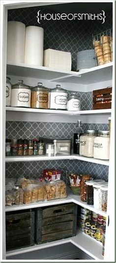 pantry organization, need built in shelving for an odd shape. by marta