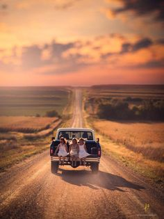 Riding on the tailgate ~ Jake Olson Photography