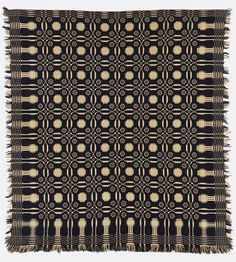 coverlet, early 19th century. by Cooper Hewitt.