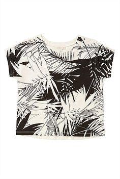 Willow: Palm Leaf Print T-Shirt #witcherywishlist