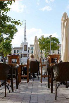 Galería de fotos del restaurante y de la comida - Restaurante La Plaza - Málaga.