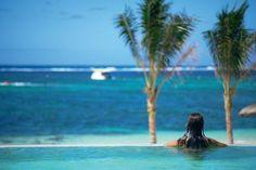 Mauritius Long Beach Hotel Pool #Travel #Vacation