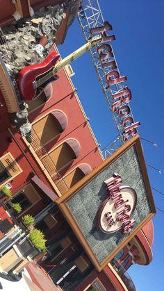 Hard Rock Cafe Orlando Guitar Shape