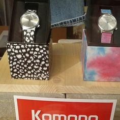 Big deals on Komono watches. Few left at #DistrictConceptStore , Ioannina, Greece.