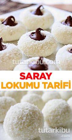 Saray Lokumu Tarifi Oreo Desserts, Delicious Desserts, Dessert Recipes, Yummy Food, Croatian Recipes, Turkish Recipes, Chocolates, Frozen Yogurt, Kitchen Recipes